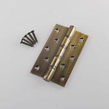 Meticulous Flat open door hinges Thickness 3mm 5 inch ball bearing hinge 126 mm stainless steel furniture gate hinge bronze