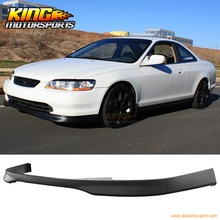 For 1998 1999 2000 Honda Accord 2 Door T-R Style Front Bumper Lip Spoiler Poly Urethane