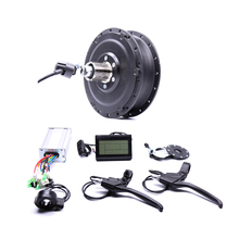 2017 48v500w Shengyi Dgw22c Rear Cassette Electric Bike Conversion Kit Brushless Hub Motors with EBike system
