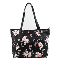 New Fashion Floral Printed Leather Handbags Women Large Shopping Tote Ladies Crossbody Bag Women Shoulder Bags Top-Handbag 1STL
