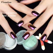 verntion Tiny Gold Acrylic Nails Decorative Sequins Glitter Acrylic Powder Multi Color Lucky Leiguang Gel Holographic Pigment