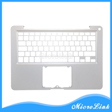 "New For MacBook Pro 13"" A1278 Top case UK EU Layout Topcase / Palmrest Upper case without keyboard"