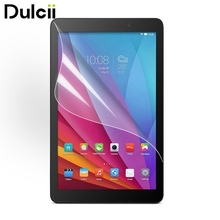 Dulcii for Huawei MediaPad T 1 10 Front Film New Ultra Clear LCD Screen Protector Guard Film for Huawei MediaPad T1 10(China)
