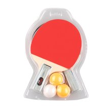 REIZ 2401 Table Tennis Racket Set Short Or Long Handle Shake-hand Ping Pong Paddle Set With 3pcs Balls Match Training Racket New