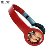 MLLSE Anime Customized Headphone Naruto Headset Headphones Gaming Sport Stereo Earphones Earphone for Iphone Samsung Xiaomi MP3