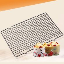25*40cm High Quality Rectangular Metal Mesh Nonstick Cake Cooling Rack Net For Cookies/Pies And Cakes Baking Rack Icing Tools