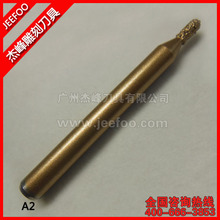 A2-6*3*7mm Ball Head CNC Router Bits/ Diamond Carving Tools/ Marble Engraving Tools/ Stone Grave(China)