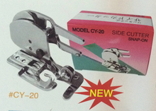Side Cutter Foot Snap-on For JANOME Zigzag Household SINGER Sewing Machine Taiwan CY-20 Get a FREE fixed angle(China)