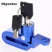 Mgoodoo Motorcycle Bike Bicycle Disc Disk Brake Lock Security Anti-theft Alarm Lock Stainless Alloy Motor Bike Theft Protection(China)