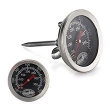 Practical Stainless Steel Cooking Oven Fryer BBQ Barbecue Probe Thermometer Food Meat Gauge 350 Degree Centigrade