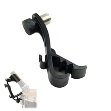Plastic Drum Mic Clamp Shockproof Clip Holder Rim Mount Kit Hard Groove Gear #U225#