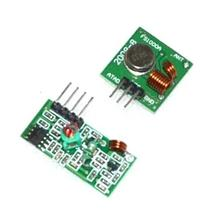 Free Shopping 433M+315M =2pair=4PCS superregenerative module wireless transmitter module / RF wireless receiver module