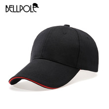 BELLPOLE 2017 New Baseball Cap Snapback Casual Solid Color Hat For women Men Hockey dad polo gorras bone casquette Truck hat(China)