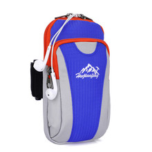 2017 new Outdoor Running Sport Wrist Pouch Bag Waterproof Leisure Convenient Package accessories(China)