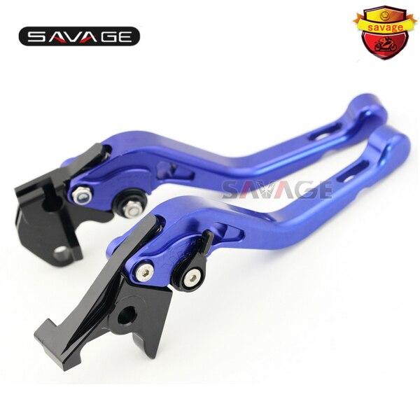 For YAMAHA TDM 900 TDM900 2002-2003 Motorcycle Accessories CNC Aluminum Adjustable Short Brake Clutch Levers Blue<br><br>Aliexpress