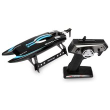 Hot Sale Shuang Ma 7014 2.4GHz 3CH Mini Waterproof Electric RC Racing Boat with Display Rack RTR Version Christmas Birthday Gift