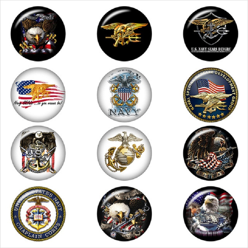 Navy-seal-trident-USA-eagle-glass-snap-button-DIY-jewelry-Round-photo-cabochons-flat-back-DA1212.jpg_640x640