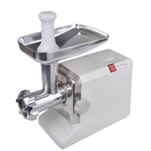 Novo Aço Home Kitchen Food Carne Moedor de Carne Elétrico Slicer Mincer 2.6HP 2000 Watt