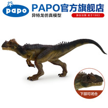 Papo Apatosaurus Simulated dinosaur model Museum Collection Jurassic World Ancient creatures