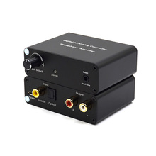 Digital to Analog Audio converter Amplifier Portable Headphone, SPDIF Optical or Coaxial digital PCM audio input to analog stere
