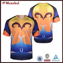 100% Grade original breathable quick dry sublimtion printed dry fit  football jersey