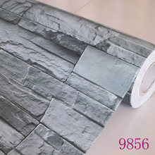 2016 new Hot selling household make-up stick adhesive membrane against the brick wall furniture renovation wallpaper waterproof(China)