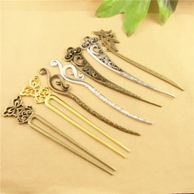 Dragonfly butterfly hairpin, DIY handmade vintage silver hair jewelry accessories wholesale personality concise bookmarks Fazan(China)
