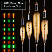 2017 Brand New LED Luminous Floats 6 Models Golden Composite Nano Fishing Floats Stopper Pesca Bobber Fishing Accessories Tackle(China)