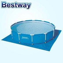 58002 Bestway 396 * 396cm woven cloth cloth shade family pool pool cover wholesale B31(China)