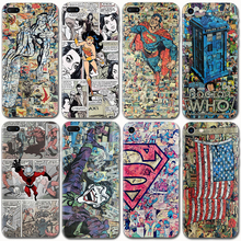 Marvel Super Hero Soft TPU Luxury Silicone Phone Cases For iPhone 5S SE 6 6S Plus 7 Plus Back Cover Case Batman Iron Man Fundas