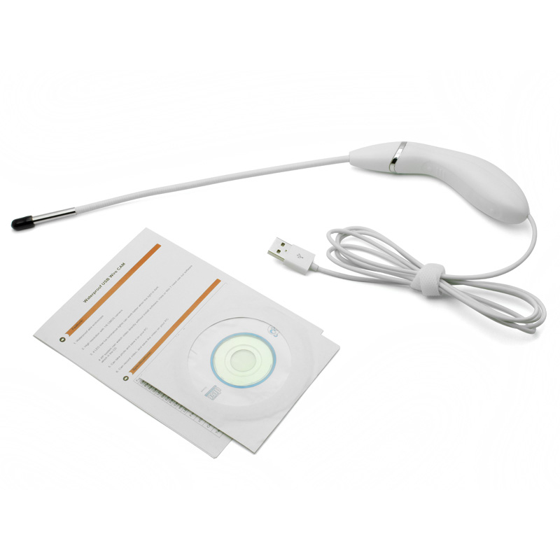 (1set)Super Mini Waterproof Wired USB Digital Endoscope Camera with 6pcs of White LED Bright Light &amp; VGA 300K Resolution<br>