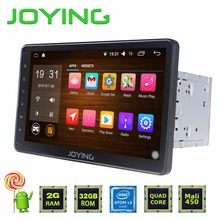 "Joying 2GB+32GB 10.1"" Universal 1024*600 Intel Car Stereo GPS Navigation System Android 5.1.1 Lollipop Quad Core 2 Din Head Unit(China)"