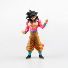 16cm High Quality Dragon Ball Model Collection Super Saiyan Fourth Form Son Goku Action Figure Super 4 Goku Toy Figure