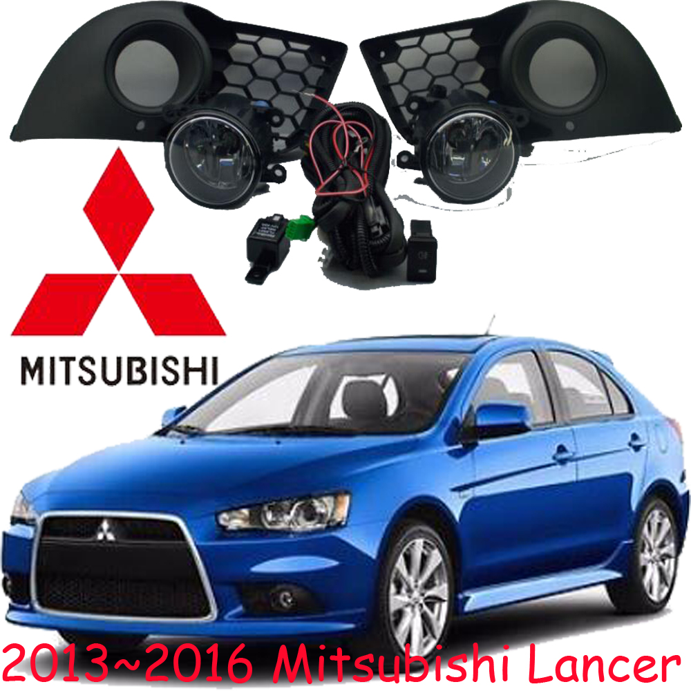 car-styling,Lancer halogen light,2008~2016,Free ship!2pcs/set,Lancer fog light;car-covers,Lancer headlight,Outlander,Lancer EX<br>