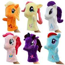 Kids cute baby Toys  Puppet Plush Toy super soft  Horse puppet  Doll for girls christmas birthday  gifts toy Hand puppet   TO124