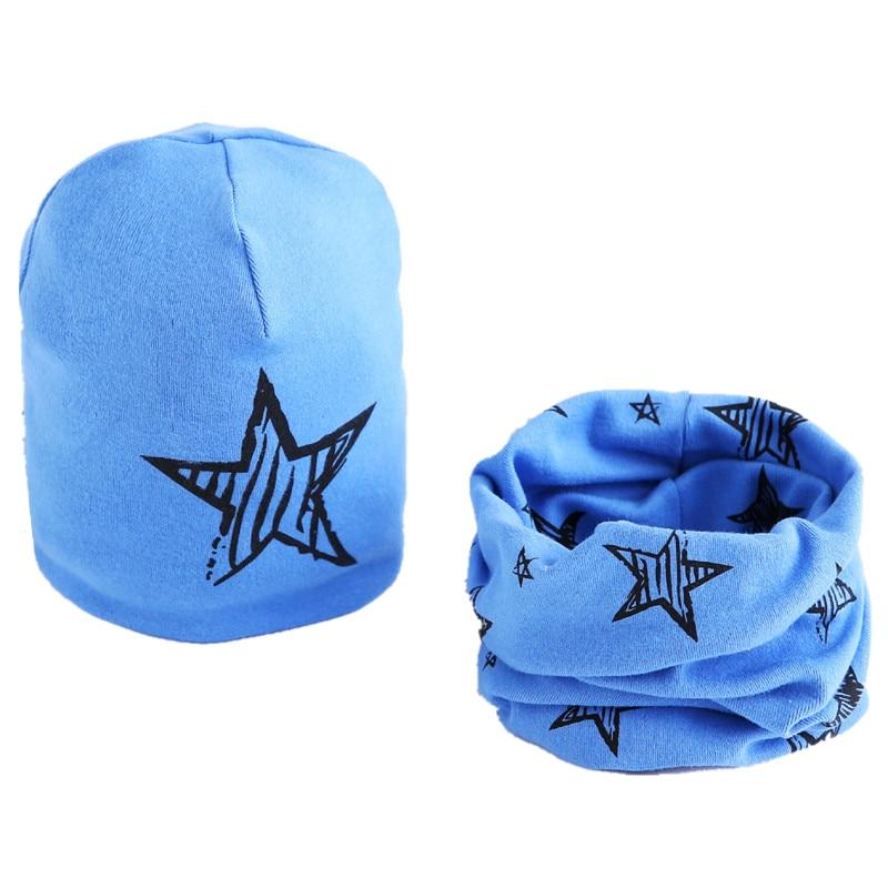 star blue hat set