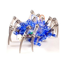 SOLAR ROBOTS/Science Solar Spider Robot Kit /DIY B/O SPIDER ROBOT/Kid Educate mechanical  and solar Robot/ 4 in 1Robots