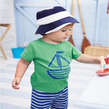 JT-142 Retail 2017 new arrive fashion boys clothing set summer children sport suits T-shirt + pants kids set free shipping