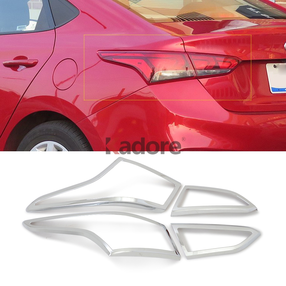 For Hyundai I25 ACCENT 2017 2018 2019 Front Eyelids Eyebrows Headlight Covers