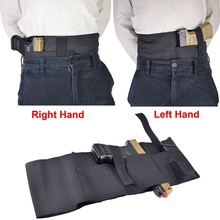 Tactical Adjustable Belly Band Left and Right Concealed Carry Gun Pistol Holster Fits Most Pistols(China)