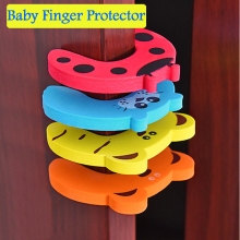 4PCS EVA Child Safety Locks for Cabinet Door Drawer Baby Finger Protector Safety Finger Protection Locks Kids Safety Guards FH11