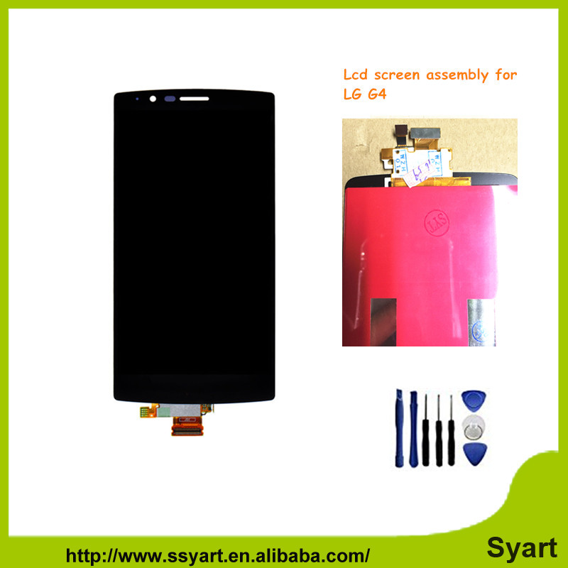 Black For Lg G4 5.5 inch AAA Quality Touch Screen LCD Display Digitizer Replacement for LG G4 free ship<br><br>Aliexpress