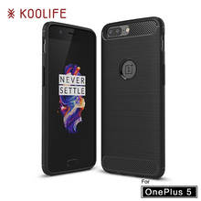 Case for Oneplus 5 Case KOOLIFE Brand Phone Case for One plus 5 Cover Silm Silicone Brushed TPU Back Cover for Oneplus 5 Cases