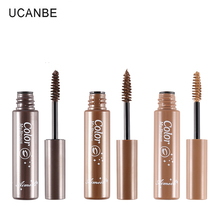 3 Colors Natural Eyebrow Gel Tattoo Waterproof Eyebrow Mascara Cream Dye Eye Brow Tint Makeup Set Kit Long Lasting Brown Gel(China)