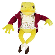 New Peter Rabbit Jeremy Fisher Frog Stuffed Animals Kids Plush Toys Children Gifts 20CM(China)