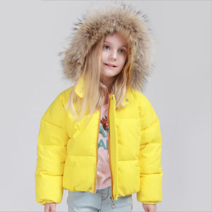 Winter Boys Girls Duck Down Coat Children Warm down jackets Children`s Clothes Casual Outerwear Kids Coats Hooded Snowsuit F357Одежда и ак�е��уары<br><br><br>Aliexpress
