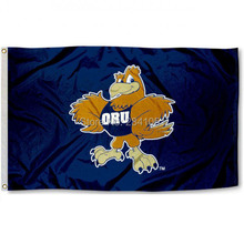 Oral Roberts Eagles Team College American Outdoor Indoor Football College Flag 3X5 Custom Any Flag