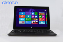 10inch mini laptop netbook Z8350 Quad core 4 threads 2GB 32GB EMMC bluetooth Windows 10 touch screen netbook(China)