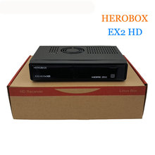 HEROBOX EX2 Satellite Receivers BCM7362 751MHZ Dual-core EX2 HD DVB-S2 Tuner Tuner DVB-S2/S Linux HD