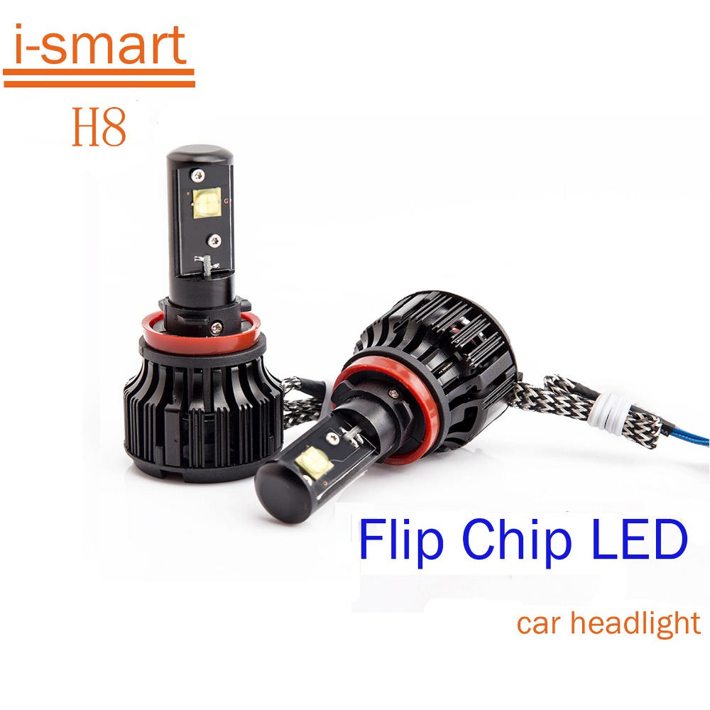 100% Warranty  Car led headlight H8 30W LED 3000LM White 6000K CREE LED CHIPS  Headlight Headlamp Bulb Conversion Kit<br><br>Aliexpress